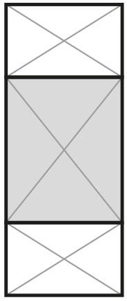 Split Panel 25%-50%-25%